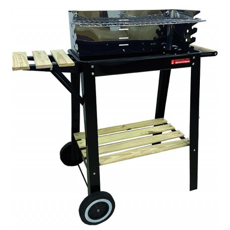 BARBECUES SANDRIGARDEN SG 51-24 C/RUOTE 51X24 CM
